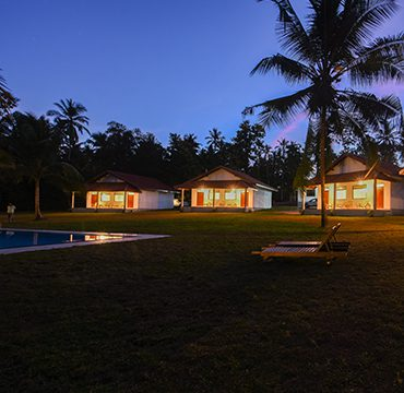 the property at night